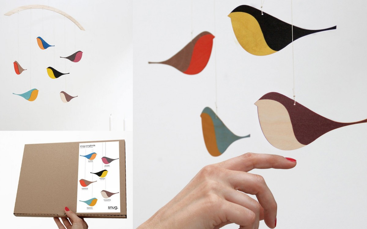 bird baby mobile