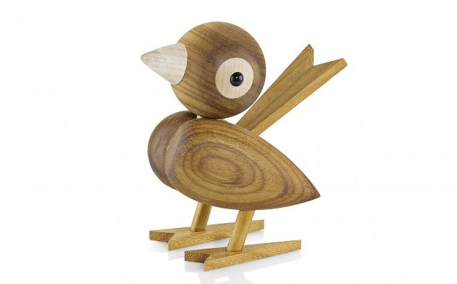 oiseau en bois de lucie kaas d co chambre b b design scandinave cadeau naissance. Black Bedroom Furniture Sets. Home Design Ideas