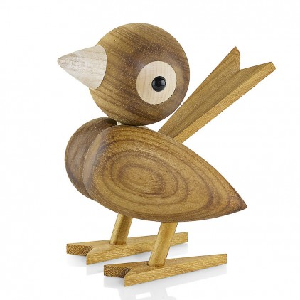 oiseau en bois Gunnar Florning pour décoration bébé