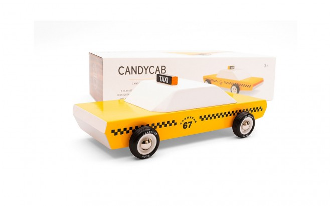 taxi cab car toy for boy kids CandyCab by CandyLabToys