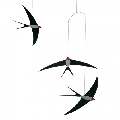 swallow baby mobile Flensted for baby nursery decoration