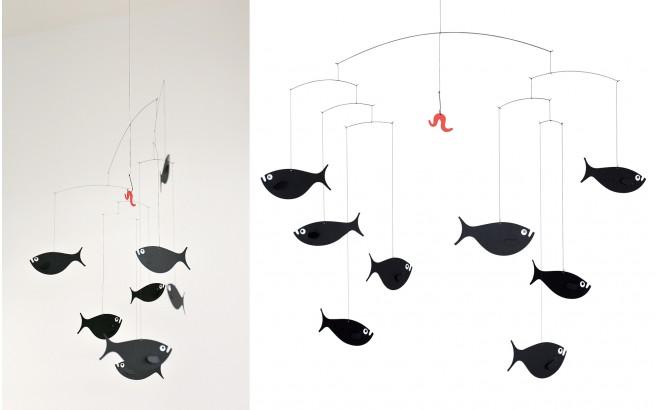 Mobile banc de poissons Flensted pour chambre enfant