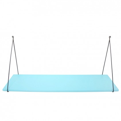 Babou children's wall shelf aqua blue by Rose in April