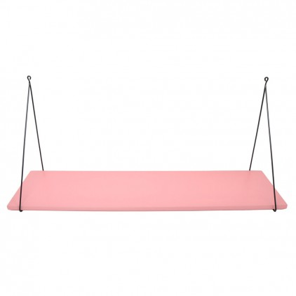 Babou children's wall shelf pink by Rose in April
