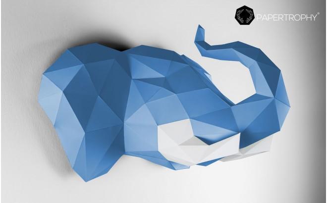 origami animal trophy for kids room