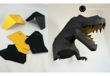 origami animal dino trophy XL black y gold for kids boys room