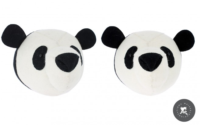 panda animal trophy Wall Decors for Kids Room