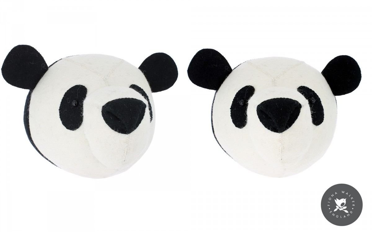 panda head wall trophy