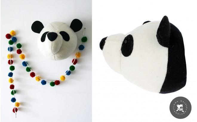 Trofeos Animales de Peluche por Fiona Walker, Panda