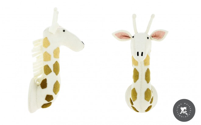 Giraffe animal trophy Wall Decors for Kids Room