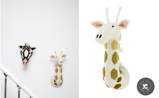 Trofeo cabeza de jirafa para decoraci n de habitaci n infantil trofeos animales de peluche por - Trofeos de peluche ...