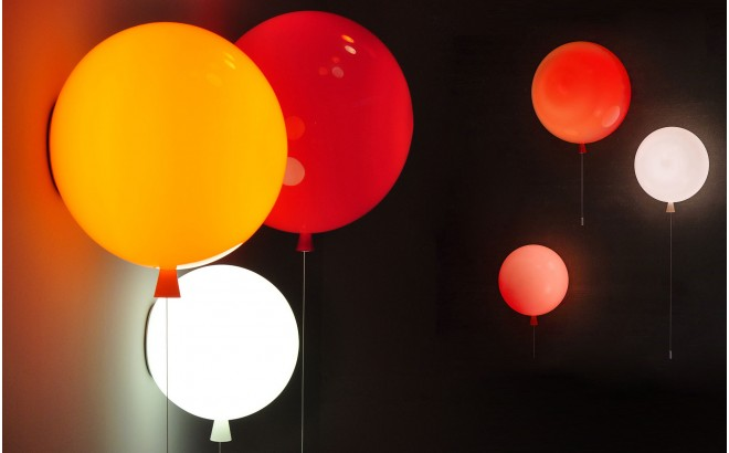 kids balloon wall light lamp
