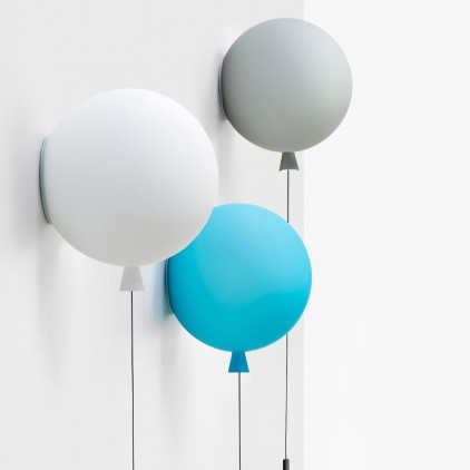 kids balloon wall light lamp