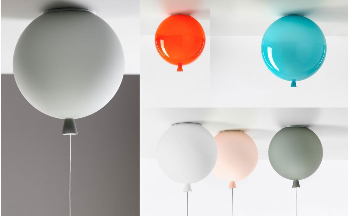 Kids Balloon Pendant Light Baby Children Room Lamp