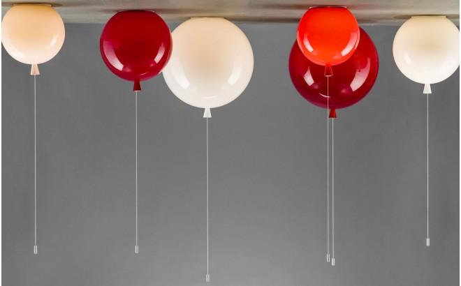 lampara de techo infantil balón plafón