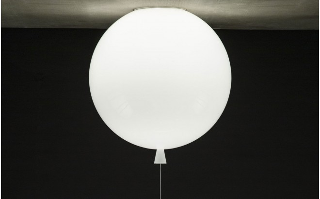 lampe murale ballon, applique blanc Boris Klimek