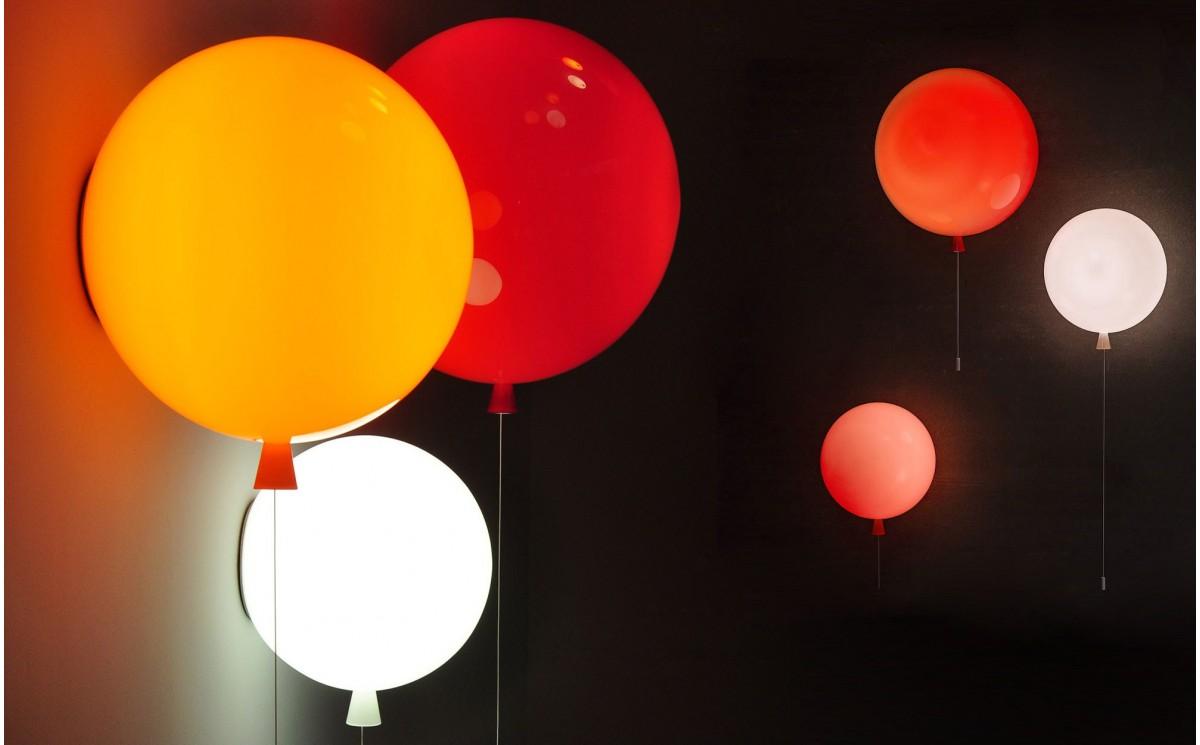 applique murale enfant ballon lampe design chambre b b. Black Bedroom Furniture Sets. Home Design Ideas