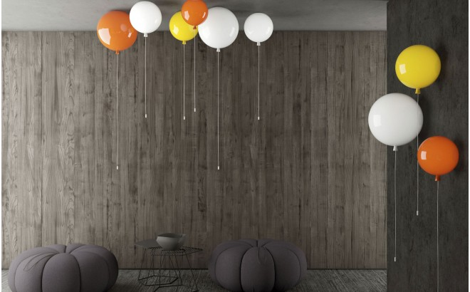 kids balloon lamp, ceiling light for kids room by Boris Klimek