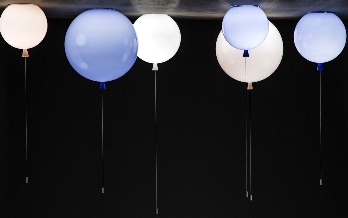 lámpara de techo bálon (blanco)
