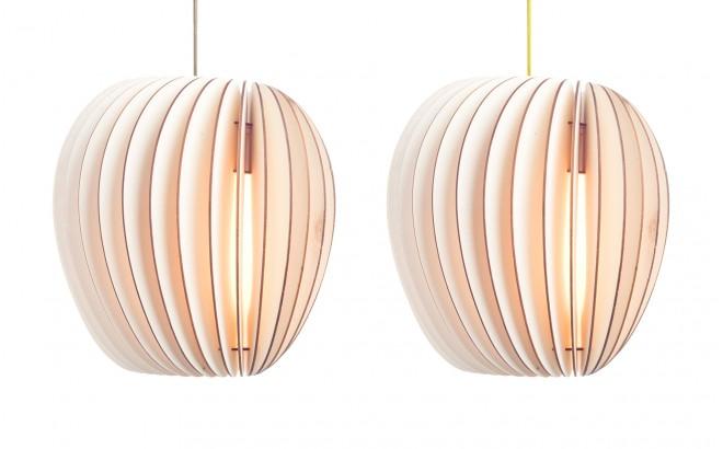 Pirum, lampe suspension enfant en bois