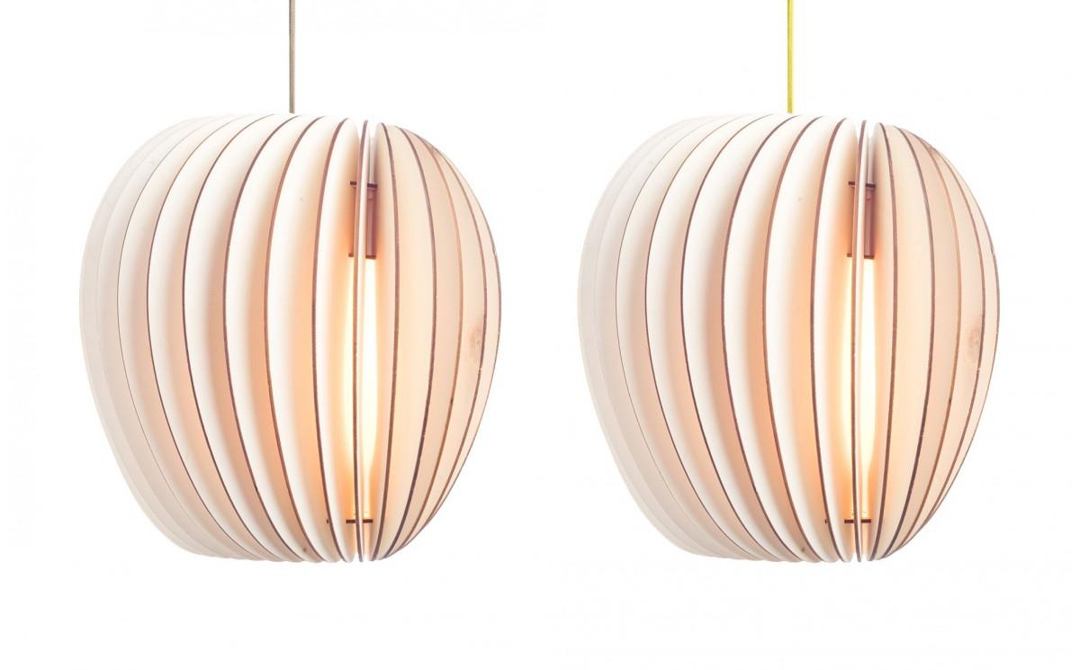 lampe enfant pirum suspension design en bois pour. Black Bedroom Furniture Sets. Home Design Ideas