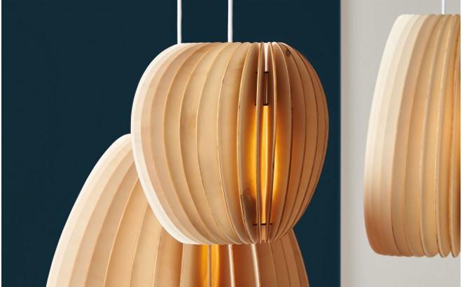 Kids Lamp Pirum Wood Design Pendant, Jungle Lamp Nursery