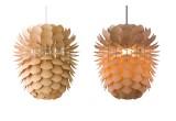 lampe enfant bois pomme de pin