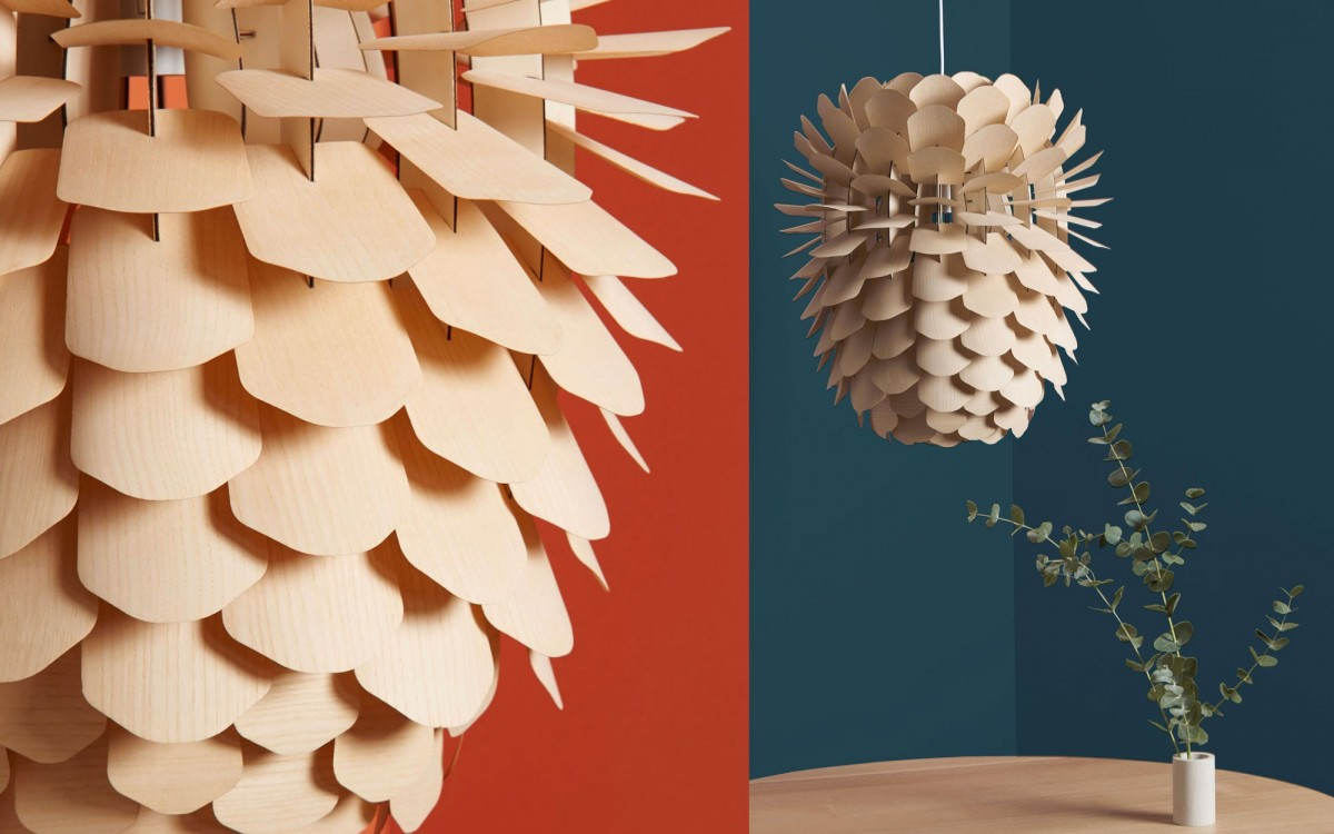 pine cone lamp for kids