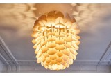Zappy, pine cone wood light lamp for kids room by schneid