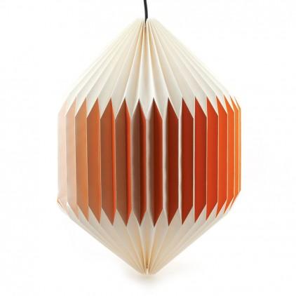 lampara infantil bebé origami akura C naranja por sentou