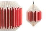 lampe enfant bébé origami akura C rouge par sentou