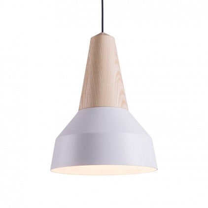 eikon basic white metal wood light lamp for kids room by schneid