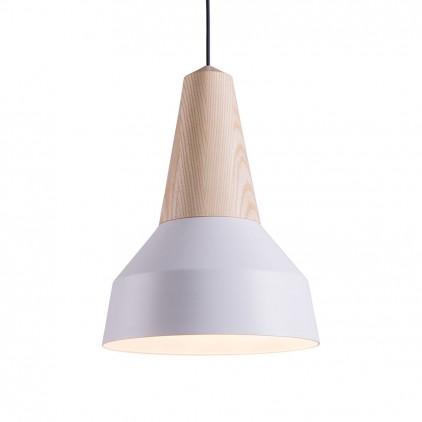 lampara infantil eikon basic madera metal blanco por schneid