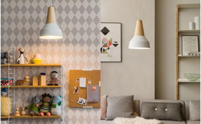 lampe eikon basic enfant bois metal blanc par schneid studio
