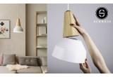 lampe enfant bois frêne et metal blanc par schneid studio