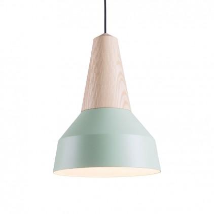 eikon basic mint metal wood light lamp for kids room by schneid