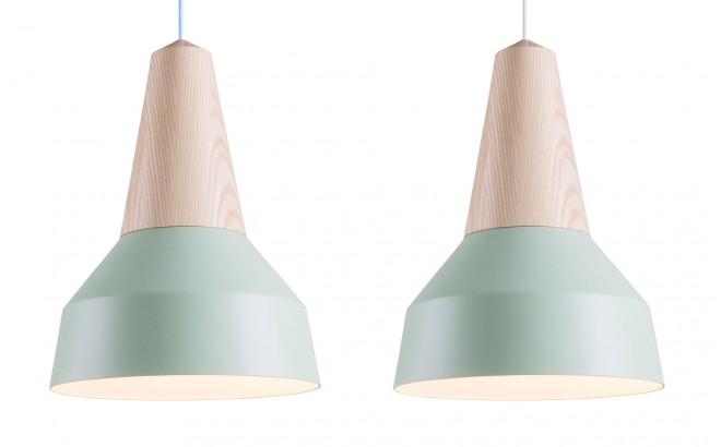 lampe enfant bois frêne et metal menthe par schneid studio