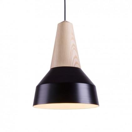 eikon basic black metal wood light lamp for kids room by schneid