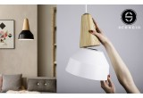 eikon basic black metal wood light lamp for kids room by schneid