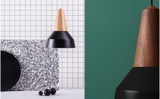 lampe eikon basic enfant bois metal noir par schneid studio