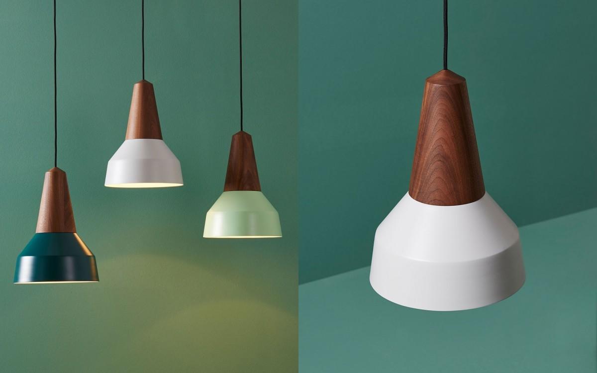 lámpara infantil de madera y metal (gris nacarado)