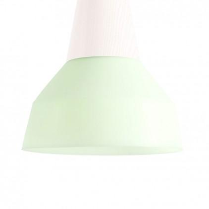 eikon bubble green silicon kids light lampshade