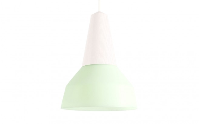 eikon bubble green silicon kids light lampshade