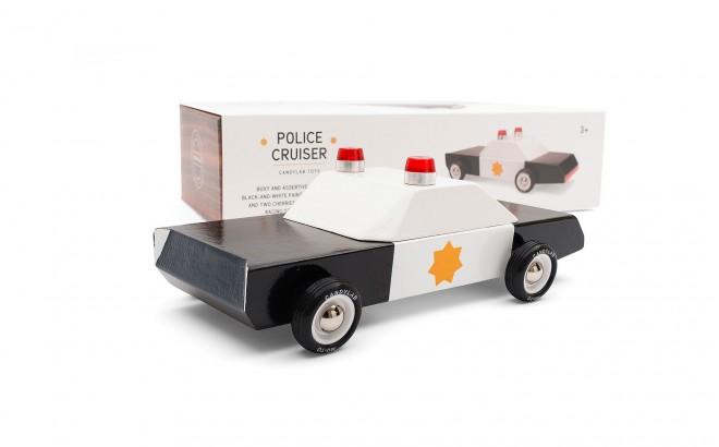 juguete coche de policía infantil para niños Police Cruiser por CandyLabToys