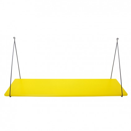 Babou children's wall shelf yellow by Rose in April