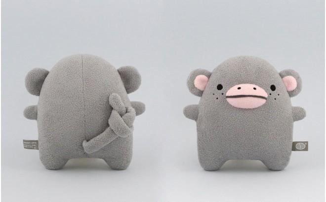 muñeco Mono, felpa para bebé y niños Ricecoco gris por Noodoll
