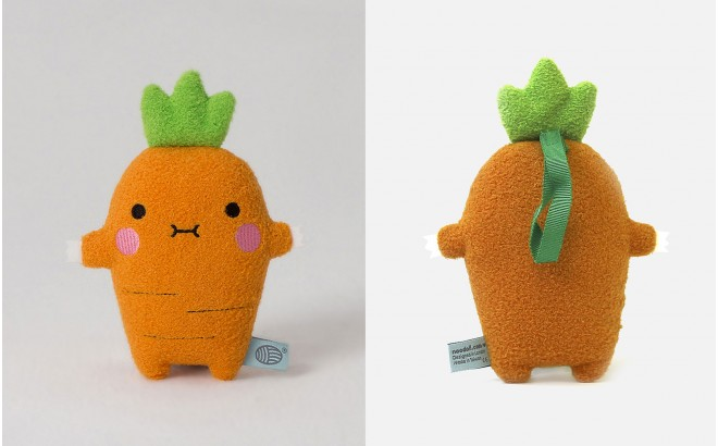 plush toy for babies and kids Ricecrunch carrot by Noodoll