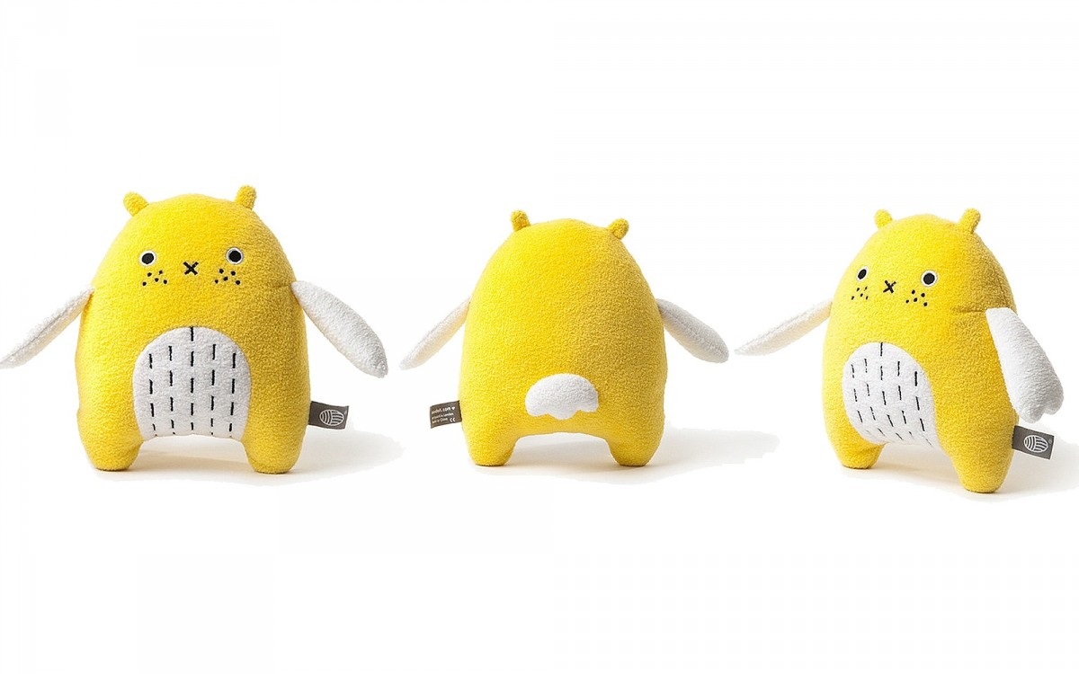 peluche doudou Do jaune