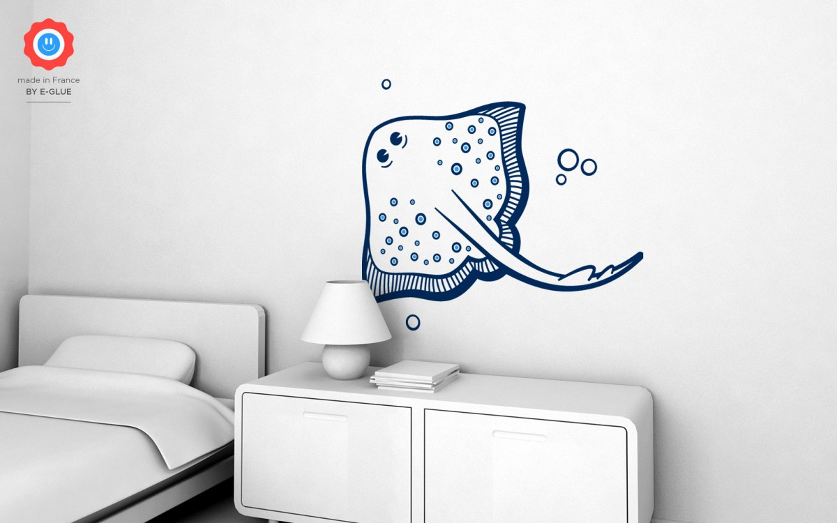 Big Stingray Kids Wall Decals Part 91