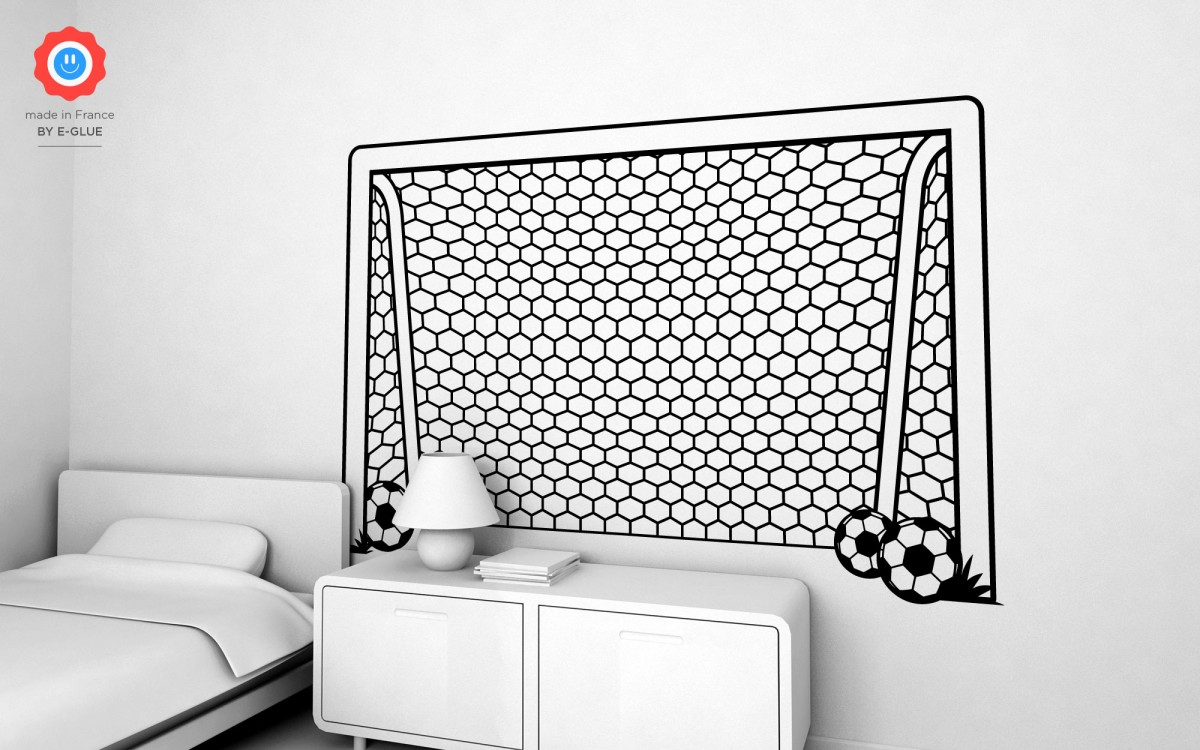 football goal post wall decals (XXL)